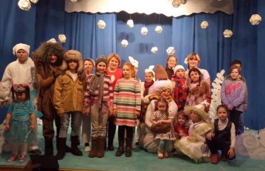 Новогодняя сказка в Глуховской школе-интернате