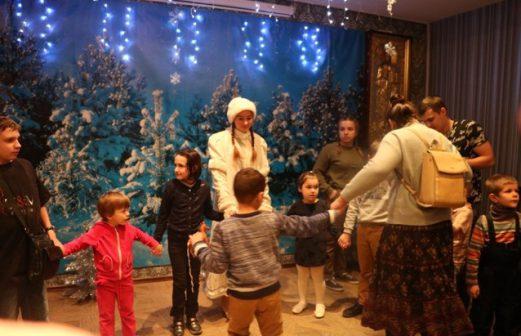 Рождественский спектакль для детей из социально-реабилитационного центра