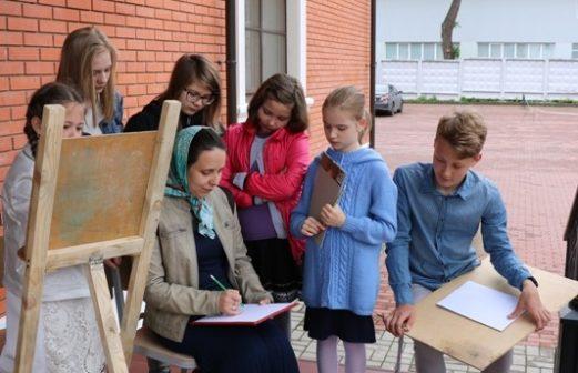 Пленэр в Воскресной школе