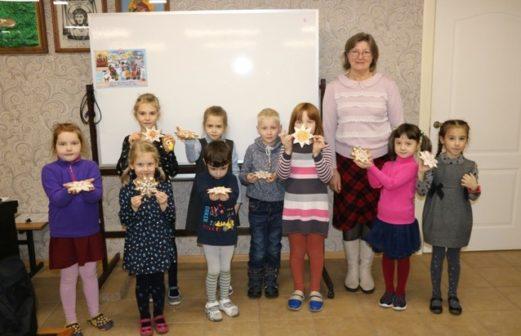Проведение мастер-класса по росписи пряников в Воскресной школе