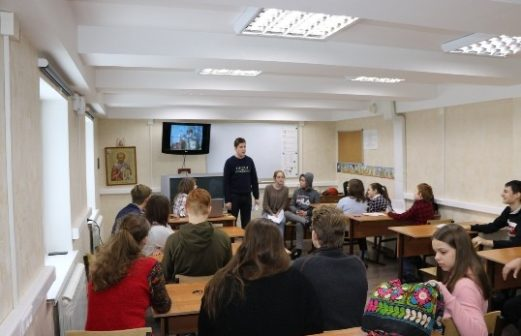 Встреча молодежи Тихвинского храма г. Ногинска и Троицкого храма с. Ивашево