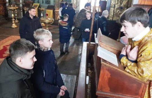 Встреча молодежи Тихвинского храма г. Ногинска и Покровского храма с. Воскресенское
