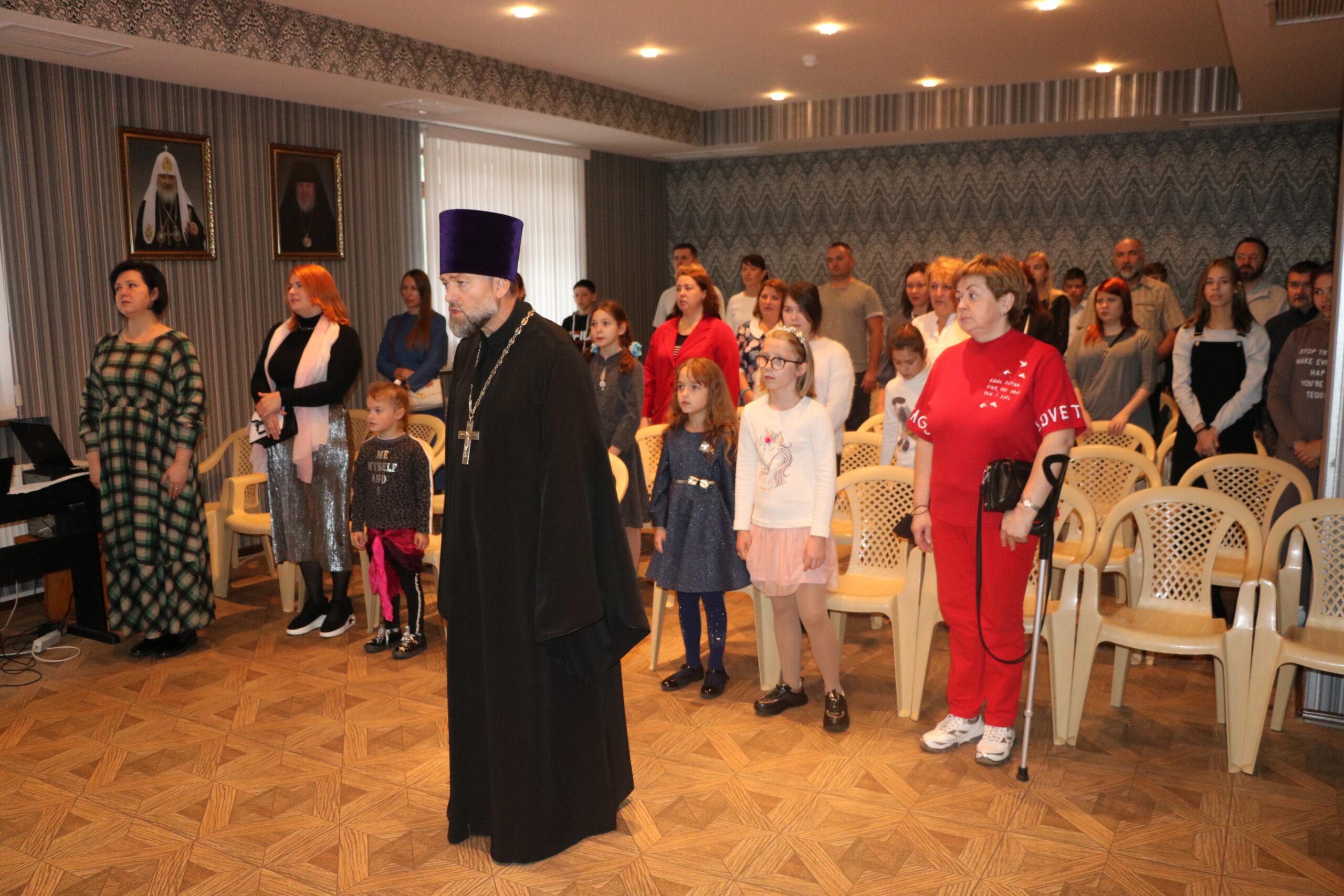 Начало учебного года в Воскресной школе Тихвинского храма